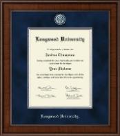Longwood University Presidential Masterpiece Diploma Frame in Madison