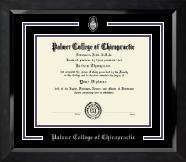 Pewter Spirit Medallion Diploma Frame in Eclipse