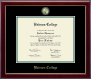 Babson College Masterpiece Medallion Diploma Frame in Gallery