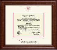 Dimensions Diploma Frame in Prescott