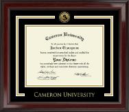 Cameron University Showcase Edition Diploma Frame in Encore