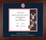 Masterpiece Medallion Certificate Frame in Sierra