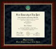 Regal Edition Diploma Frame in Murano