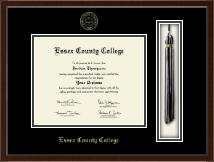 Essex County College Tassel Edition Diploma Frame in Delta