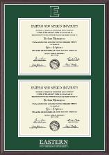 Double Diploma Frame in Devon