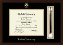 Linfield University Tassel Edition Diploma Frame in Delta