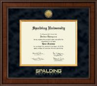 Spalding University Presidential Gold Engraved Diploma Frame in Madison