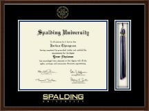 Spalding University Tassel Edition Diploma Frame in Delta