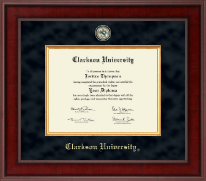 Clarkson University Presidential Masterpiece Diploma Frame in Jefferson