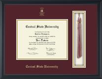 Tassel Edition Diploma Frame in Omega