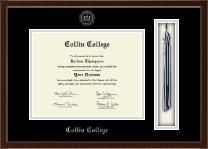 Collin College Tassel Edition Diploma Frame in Delta