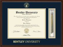Bentley University Tassel Edition Diploma Frame in Delta