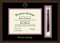 Erskine College Tassel Edition Diploma Frame in Delta