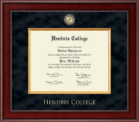 Hendrix College Presidential Masterpiece Diploma Frame in Jefferson