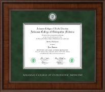Arkansas Colleges of Health Education Presidential Masterpiece Diploma Frame in Madison