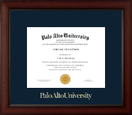 Gold Embossed Diploma Frame in Paxton