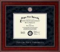 Oregon State University Presidential Masterpiece Diploma Frame in Jefferson