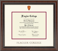 Dimensions Diploma Frame in Chateau