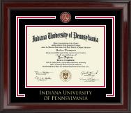 Indiana University of Pennsylvania Showcase Edition Diploma Frame in Encore